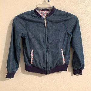 NWOT Tommy Hilfiger Girls Bomber Jacket size 8-10